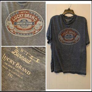 Lucky Brand Burnout T-Shirt XXL